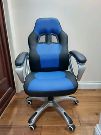 Brandnew Gaming / Computer chair - Blue