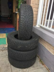 245/70 R 17 - 4 Winter Tires, Only $299.