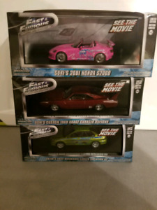 Fast and furious 1:43 Diecast Supra S2000 Charger
