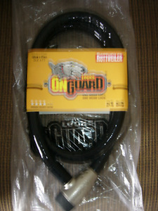 NEW Rottweiler OnGuard Bicycle & Equipment Lock