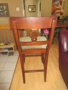 GORGEOUS SOLID WOOD Brand New Bar Stools