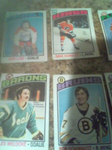 Vintage early 1970s hockey , rcmp, planet of apes etc.,cards