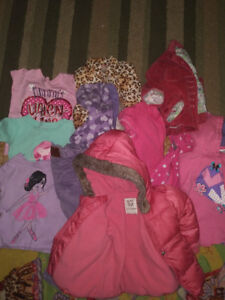 Pink 12-18 month winter coat and more