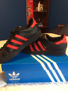 Adidas Superstar Black/Red