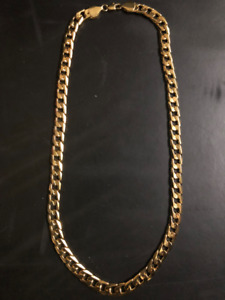 BRAND NEW MEN'S Gold Plated Chains and Bracelets