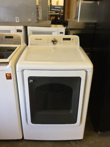 "Samsung White 27"" Front Load Dryer"