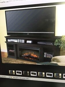 Electric fire place entertainment centre  Kitchener / Waterloo Kitchener Area image 2