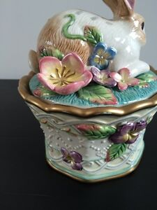 Fitz and Floyd porcelain container Kingston Kingston Area image 3