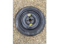 Mini space saver tyre