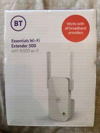 BT Essentials Wi-Fi Extender 300 - White (088159)