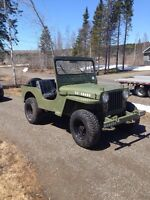 1952 willys m-38