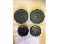40kg CAST IRON WEIGHT PLATES