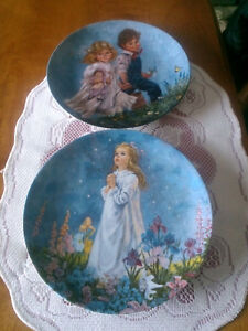 10 collector plates various artists 2.00 each