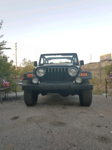 2001 jeep tj 4litre 122km certified and etested