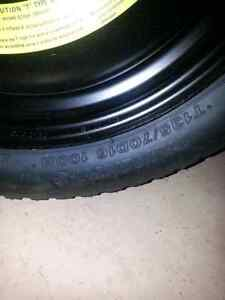 Spare Tire T135/70D16 5x100 bolt patter from subaru wrx Windsor Region Ontario image 3