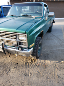 1982 Chevy 4x4 1500 not safetied