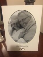 Wedding day picture frame!