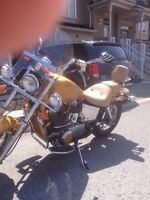 Great pair of motorcycles in need of some TLC