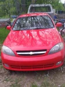 Chevy Optra 5 Hatchback 2006 Parts/Repair