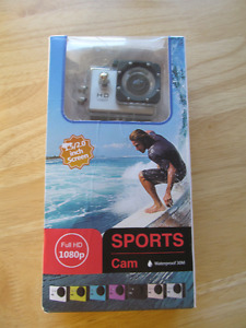 1080p, gopro style, new in box, worth $50, action camera