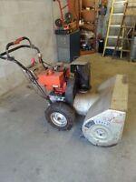 "Craftsman 10hp 32""cut snow blower"