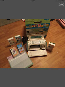 Cricut Create PLUS five cartridges