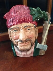 The Lumberjack Royal Doulton Jug