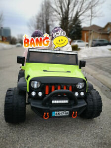 Two Seater 12V Kids Electric Ride-On Truck Remote control Car