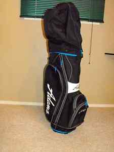 Adams Men's Idea Golf Bag complete with left hand swing clubs
