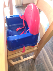 *free* Toddler child booster seat high chair