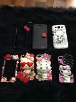 Cover cell iPhone 4,4,5 et galaxy 3