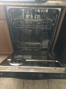 Samsung Black Dishwasher