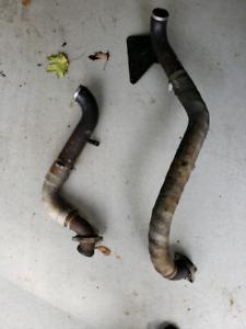 2008 vrod drag pipes