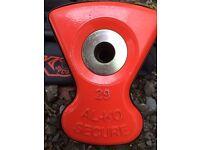 Alko wheel lock ( caravan ) insert no. 29