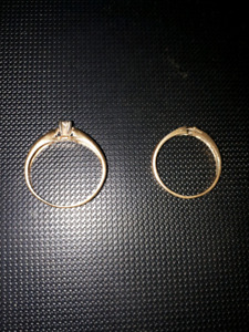 Gold Dimond rings