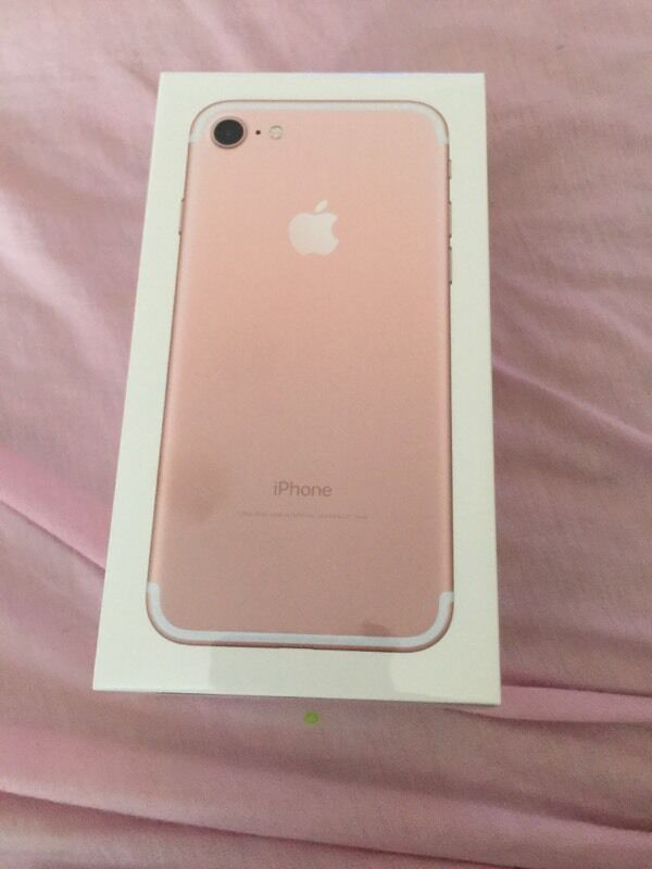 iphone 7 rose gold 32gb ch a active qu c t new 100 nh t t o. Black Bedroom Furniture Sets. Home Design Ideas
