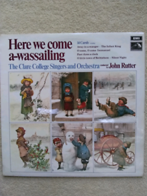 Vinyl: Here we come a-wassailing