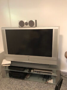 """50"""" plasma and tv stand and accessories"""