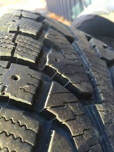 Hankook Ipike rw11 255/70R18 (great for Jeep Wrangler!)