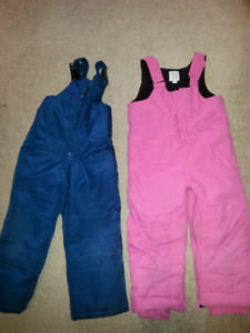 Size 3x and 4T snow pants