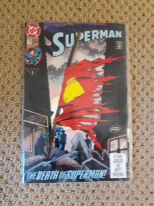 """The Death of Superman!"" Comics (mint condition)"