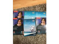 ACCA F1 F2 F3 study books & revision kit