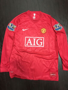 "Manchester United 2008/2009 ""Rooney"" NikeFit Jersey"