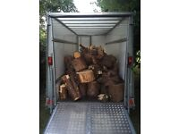 Wanted logs or trees to be cut up and taken away