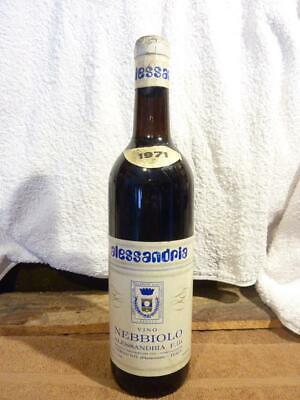 Rotwein Italien - Nebbiolo von Alessandria - 1971 - zum 50. Geburtstag