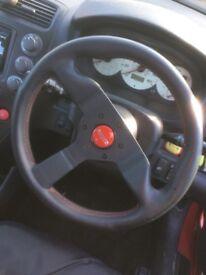 Momo Monte Carlo steering wheel with hkb hub Nissan Honda toyota
