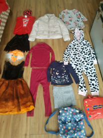 Girls Bundle with lovely winter jacket