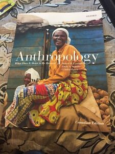 Anthropology text book for sale