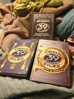 39  Clues three book set and cards