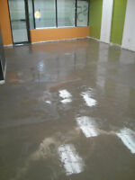 SMOOTH CONCRETE FLOOR SERVICE FOR PERFECT LAMINATE OR TILE